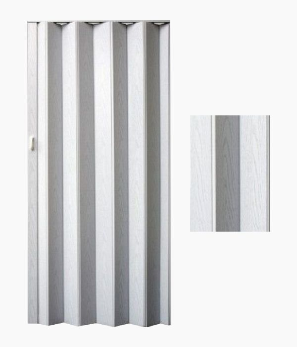Harmonikové ( zhrňovacie ) dvere plné - BREZA 36,99€, 80cm