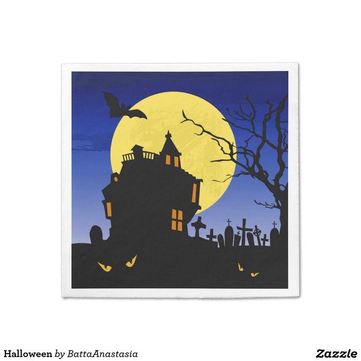 541 best halloween party paper napkins images on pinterest halloween stopboris Images