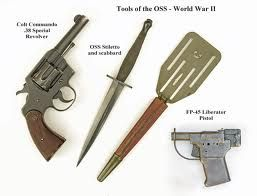 Weapons of the OSS - From the Weapons & Gadgets exhibit, LI Spy Museum