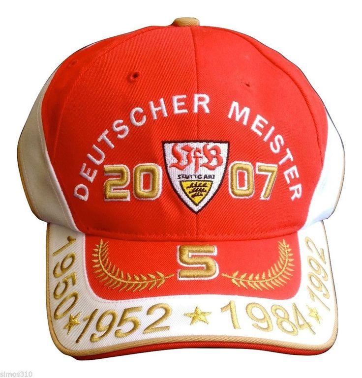 Deutscher Meister VFB Stuttgart German Futball Football  Soccer Cap Hat NWOT #Unbranded #VfBStuttgart