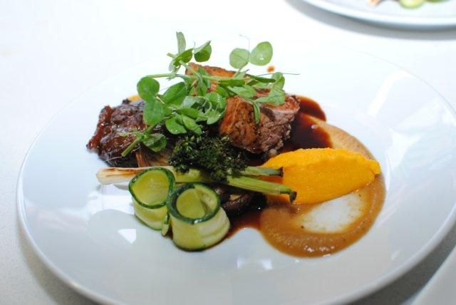 Main Course by Reuben Riffel at the Plascon Double Velvet Birthday Competition dinner