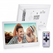 Digital Photo Frame 10 inch HD TFT-LCD Clock MP3 MP4 Movie Player Best Gift Album Picture