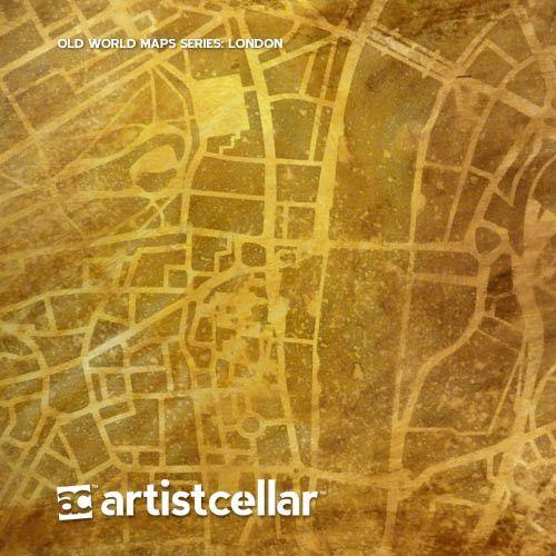 Old World Maps Series Four-Stencil Set