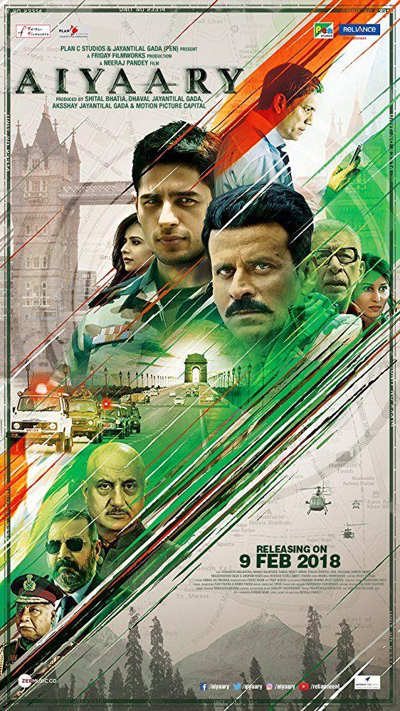 Watch Aiyaary 2018 Full Movie Online Free Putloker