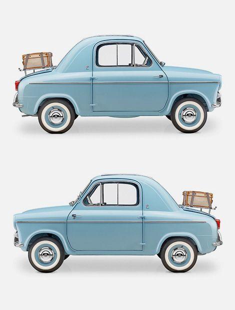 specialcar:  Vespa 400 micro car