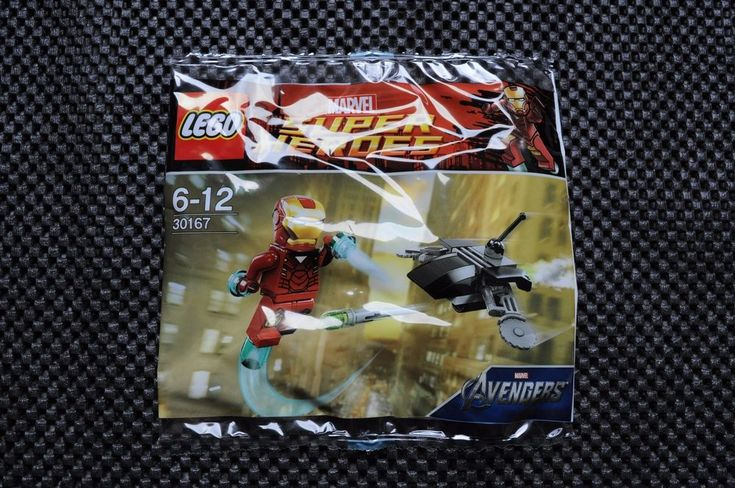 LEGO Super Heroes Marvel Avengers IRON MAN vs Drone Polybag 30167
