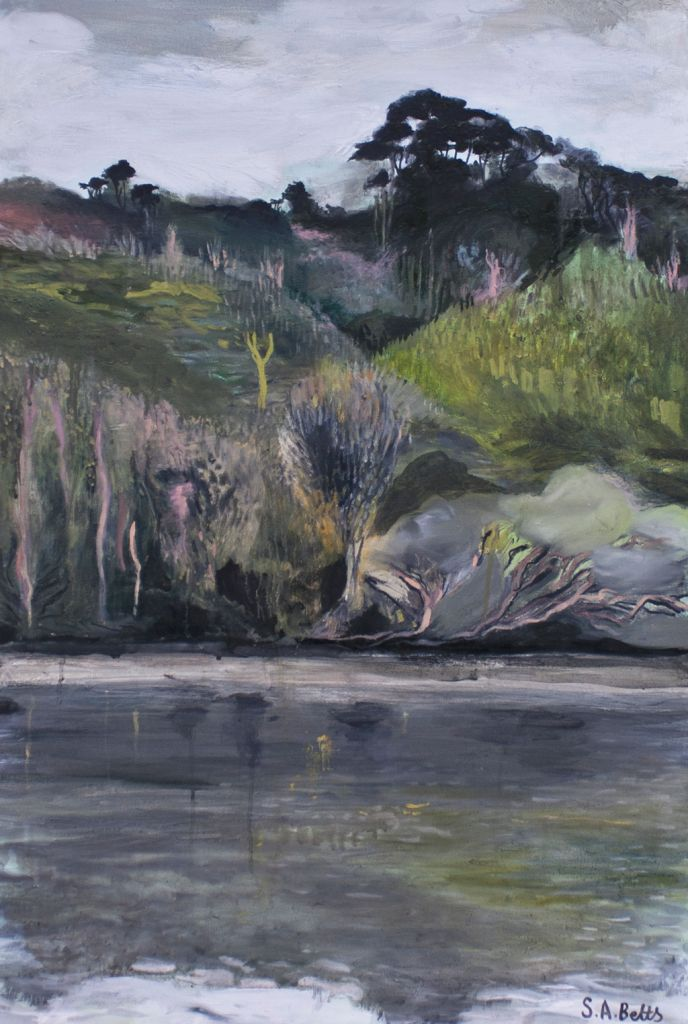 Creative Oil Painting Oils Canvas Art Artist New Zealand Contemporary Landscape Expressive Plain Air Auckland Greenhithe North Island Artwork Painter