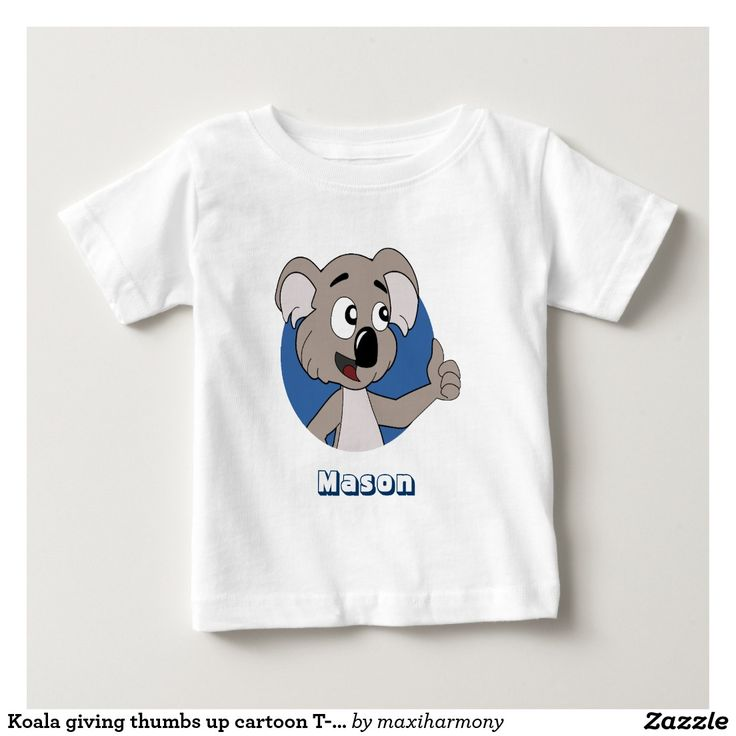Koala giving thumbs up cartoon T-Shirt