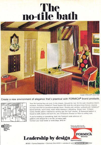 Storia del bagno - Viaggio nelle riviste vintage degli anni '50 | Un blog sulla cultura dell'arredo bagno