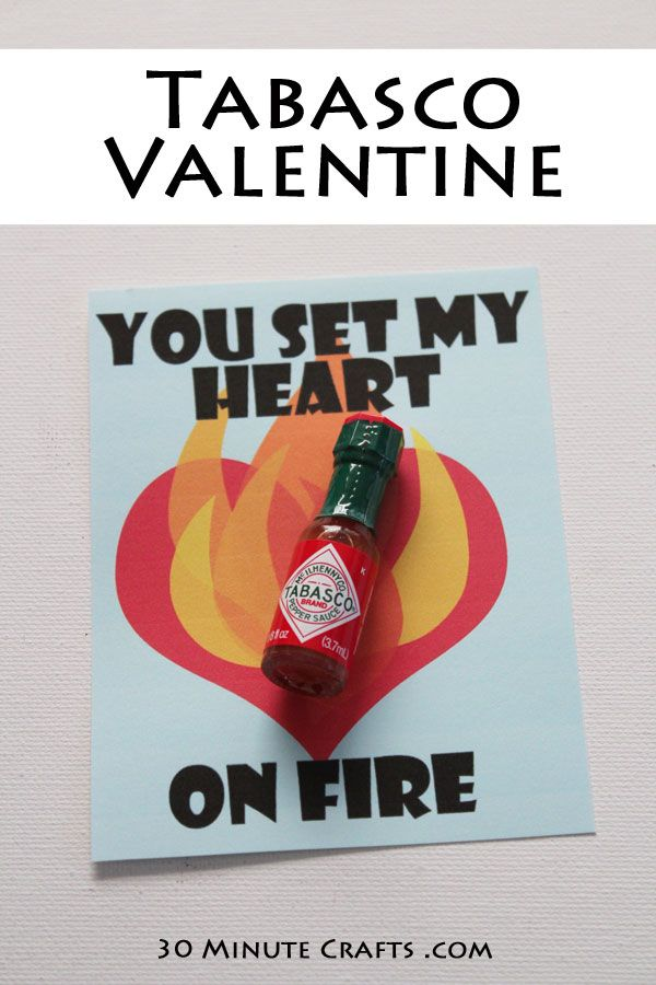 Tabasco Valentine Printable Make This Valentine S Day Extra Spicy