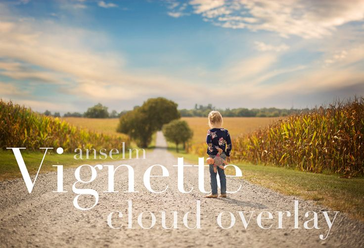 Vignette Cloud Overlay by Anselm Overlays on @creativemarket