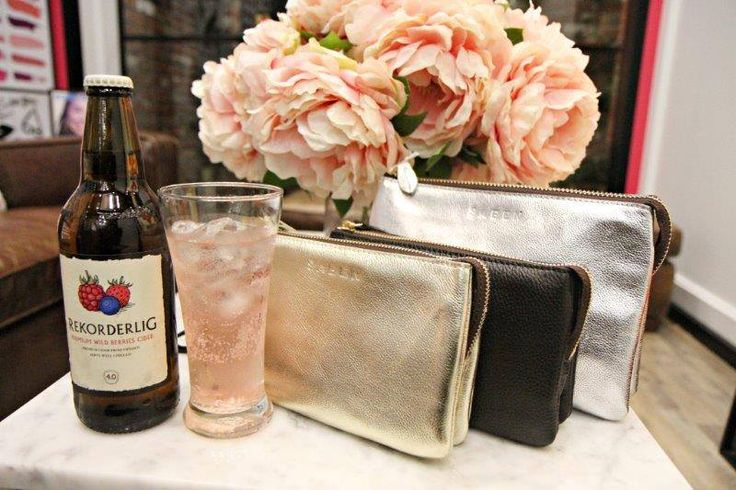 What a stylish coupling - Rekorderlig Wild Berries Cider & Saben (Tilly's Big Sis Mineral Metallics launch)