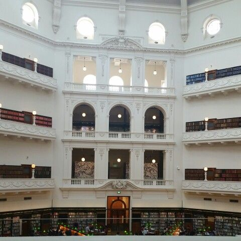 Melbourne State Library.