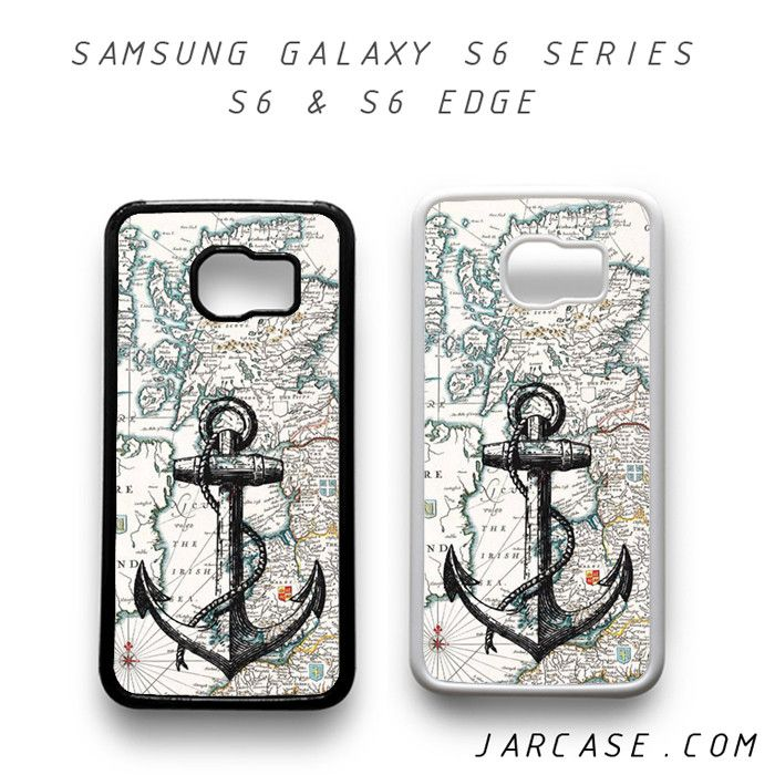 nautica map and anchor Phone case for samsung galaxy S6 & S6 EDGE