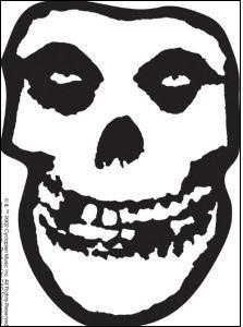 Misfits Skull Stencil For Pumpkin Halloween Pinterest