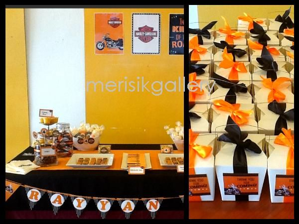 harley davidson party decorating ideas | MerisikGallery: Harley Davidson Theme Party