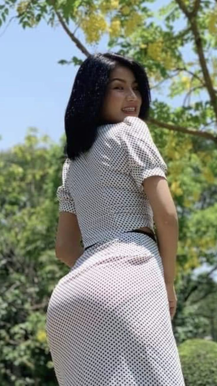 Picture butt chinoise women