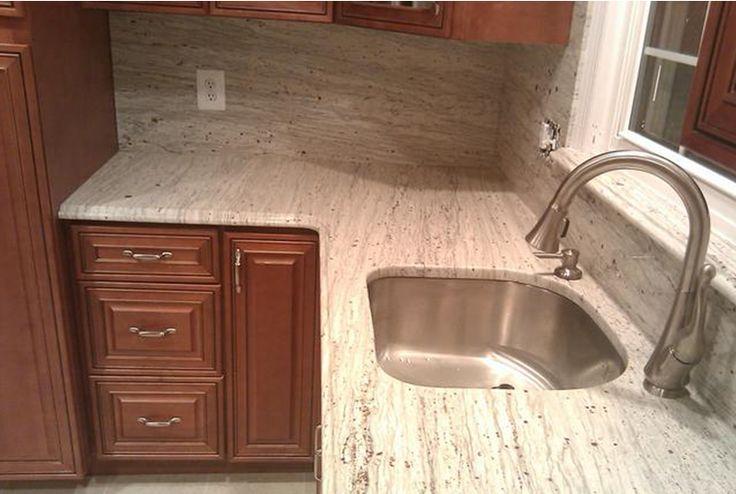 river+white+granite+countertop   Kitchen Granite