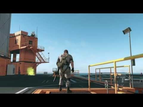 Funny flare grenade glitch in MB (TPP) #MetalGearSolid #mgs #MGSV #MetalGear #Konami #cosplay #PS4 #game #MGSVTPP