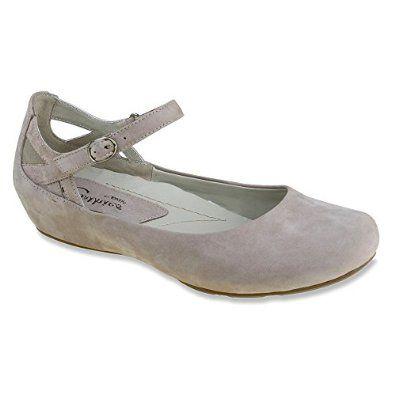 Amazon.com: Earthies Womens Capri Mary Jane Flats: Shoes