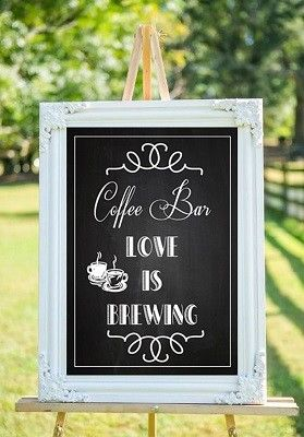 Creative Food And Drink Bars For Your Wedding - Part 1: #3. Coffee