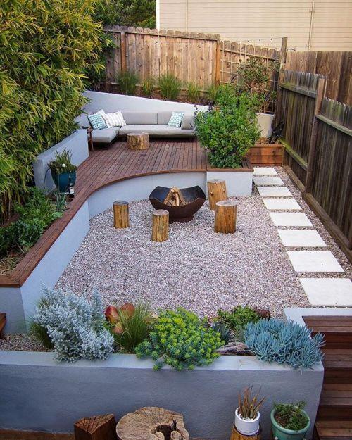 Increíble patio con hoguera! El Mirador de Portrero Hill está diseñado por SEED Stu … baños