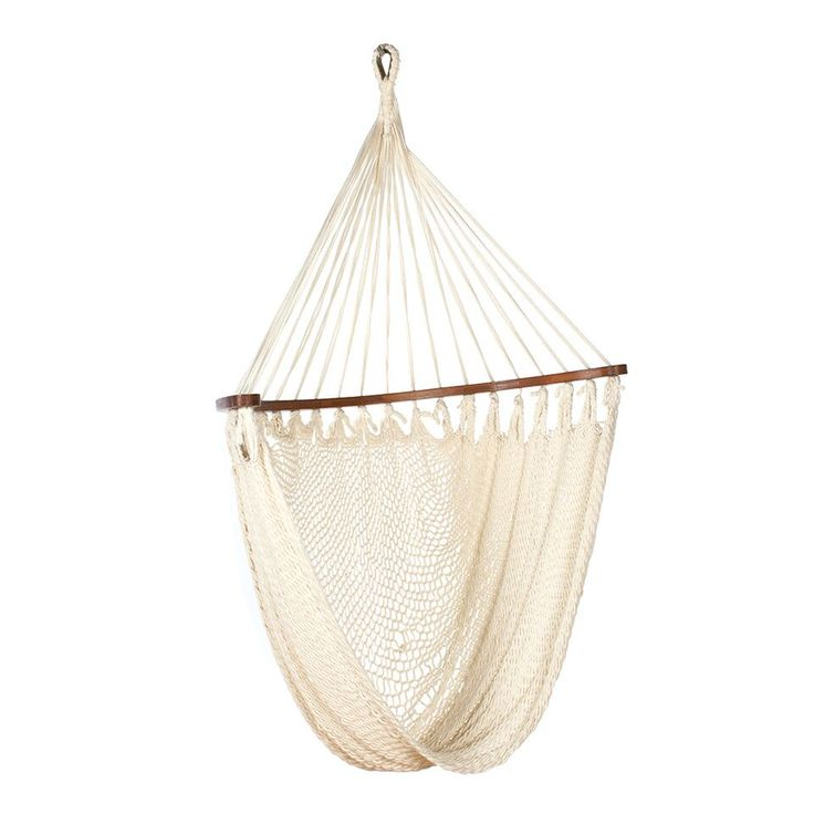 The Rocking Hammock is a rocking chair, perfect to hang on to a branch of a tree or in the house ceiling. The visibly texture of the seat, woven by antique weaving frames in Monte Isola, is the hallmark of its quality. Derived from the tradition of production of  shing nets, is a product of extreme quality, ideal for interior and exterior.