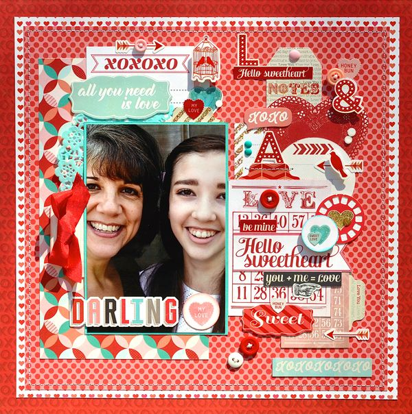 scrapbooking love