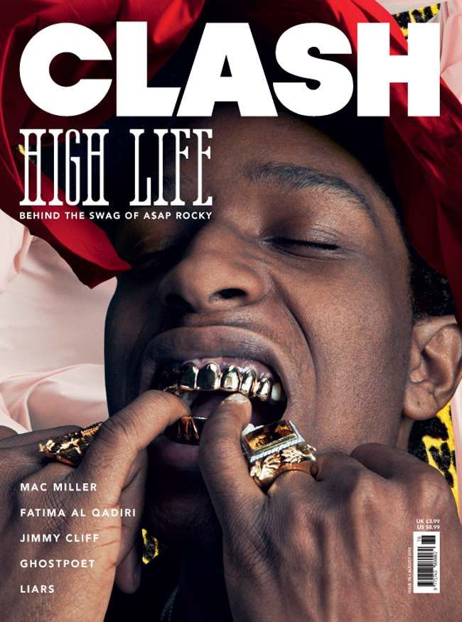 A$AP Rocky Clash Music Magazine August 2012
