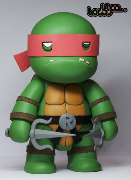 Ninja Turtle toys are ALWAYS cool... but custom toys are WAY COOLER!