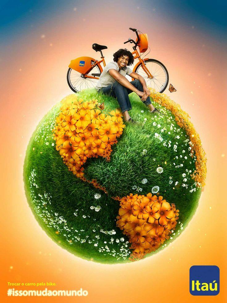 Banco Itau: Swap the car for a bike