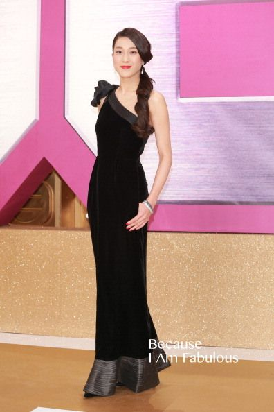 Fabulously Spotted: Linda Chung Wearing Giorgio Armani - 2013 TVB Anniversary Awards - http://www.becauseiamfabulous.com/2013/12/linda-chung-wearing-giorgio-armani-2013-tvb-anniversary-awards/