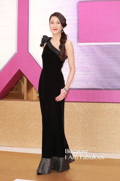 Fabulously Spotted: Linda Chung Wearing Giorgio Armani - 2013 TVB Anniversary Awards - http://www.becauseiamfabulous.com/2013/12/linda-chung-wearing-giorgio-armani-2013-tvb-anniversary-awards/