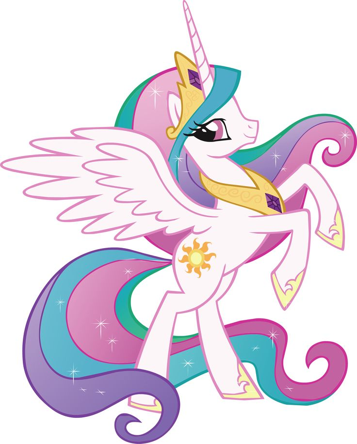 PRINCESS CELESTIA My Little Pony Decal Removable WALL STICKER Home Decor Art