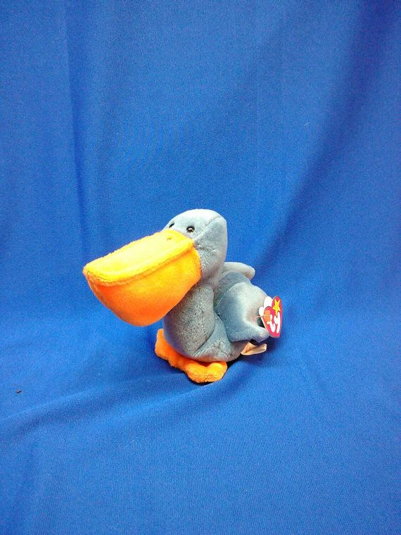 Check out this item in my Etsy shop https://www.etsy.com/listing/241490482/scoop-pelican-ty-original-beanie-baby