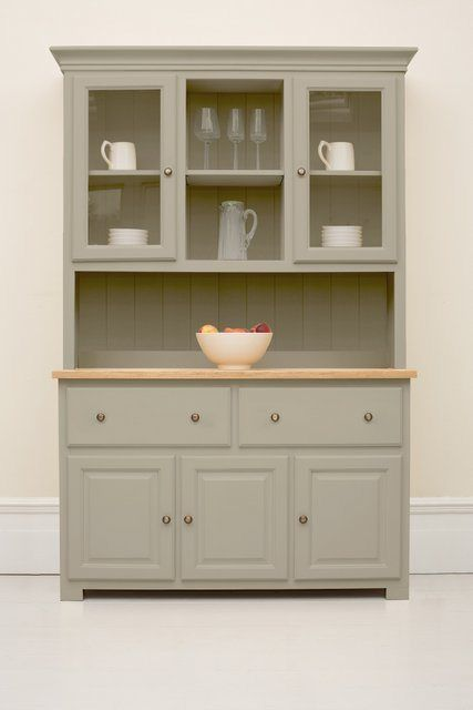 White Kitchen Dresser 19 best kitchen dresser painted grey images on pinterest | kitchen