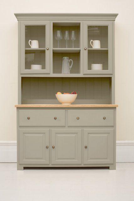 Studio 017 Welsh Dresser painted in Saltmarsh http://thekitchendresser.co.uk/welsh-dressers/ #WelshDresser