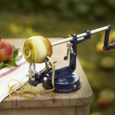 Apple Master Peeler and Corer. Just what you need to make apple pies.