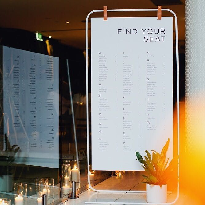 """191 Likes, 7 Comments - The Details Co. (@thedetailsco) on Instagram: """"We loved getting to design and create this seating chart for one of our own weddings. Photo /…"""""""