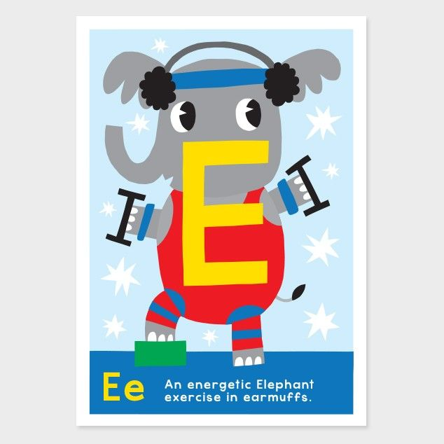 e kids art print by kissy kissy kids see http - Prints For Kids