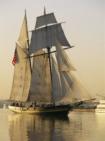 """Pride of Baltimore"", Baltimore Clipper Replica                                                                                                                                                                                 Más"