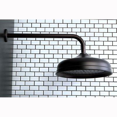 "Kingston Brass Victorian 10"" Shower Head and 17"" Ceiling Support Combo - K225K2 | Wayfair"