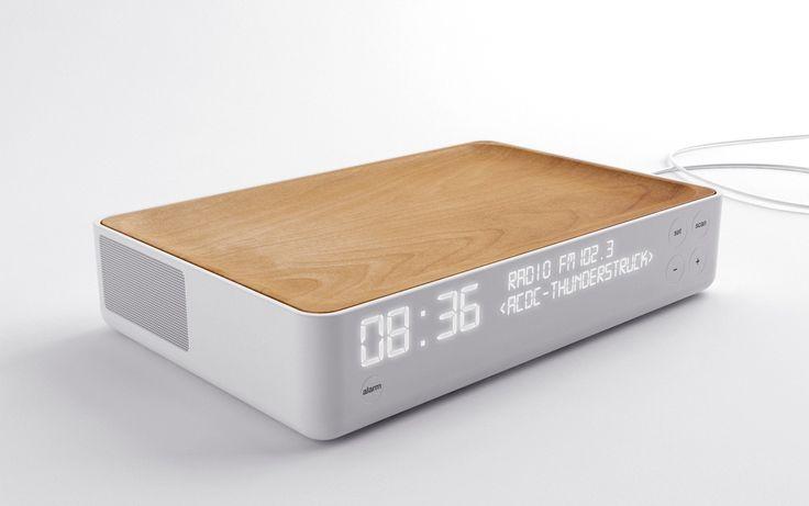 アラームクロックラジオ 目覚まし時計 2011 Stone Designs