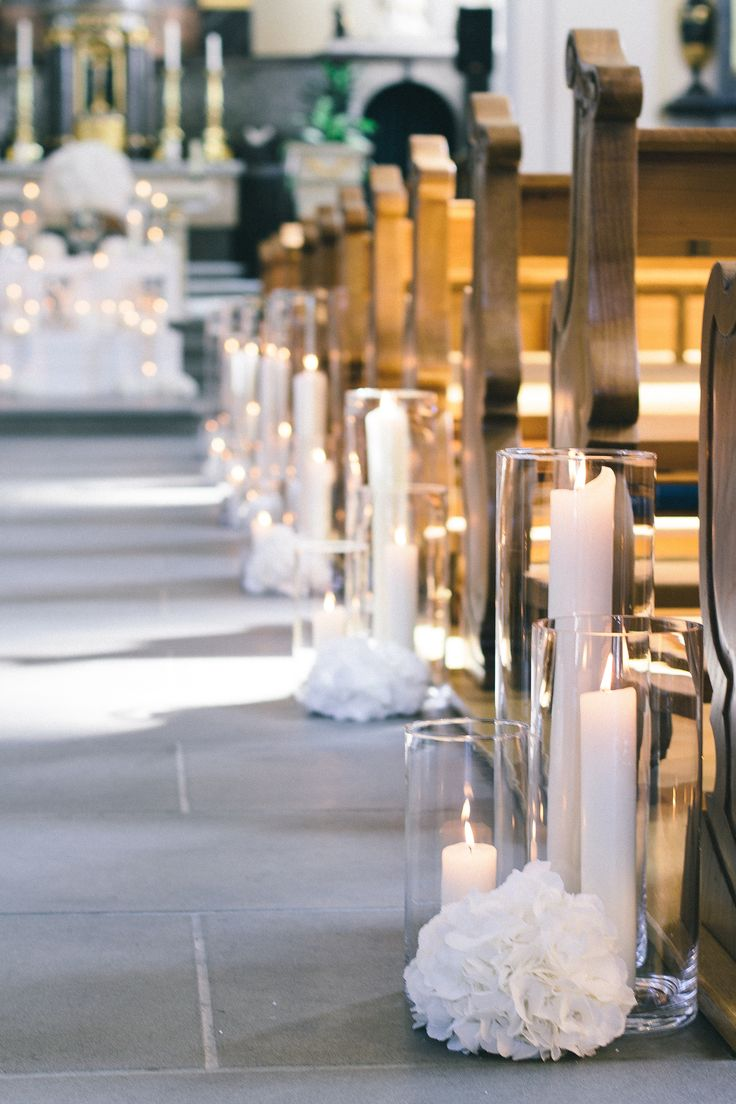 romantic, lush and enchanted floral design and wedding styling with white hydrangeas and lots of candles by TML | TABEA MARIA-LISA