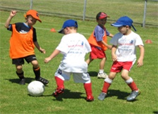 Soccer and Sports Kickstart    does you toddler just love kicking the ball around? why not introduce them to various ball sports whilst at the same time they learn new skills and make new friends. Kick start programs are held in various locations around sydney- with programs developed for 2 yrs and up. see website for terms, locations and prices