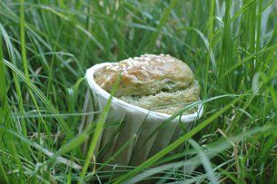 Fresh Herb Muffins Recipe - Chocolate & Zucchini