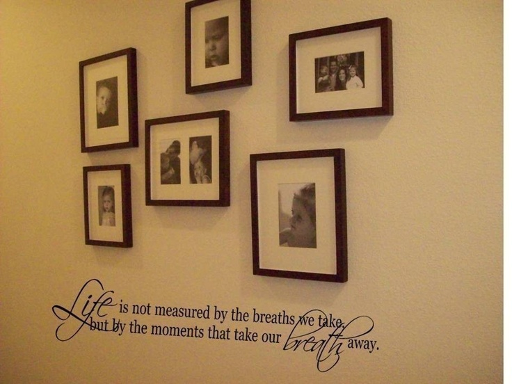 Wall decal quote life is not measured by the breaths we take wall decal wall