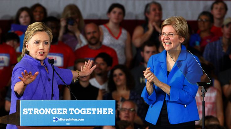 The Clinton-Warren Kumbaya Moment May Give Way to Tension After November