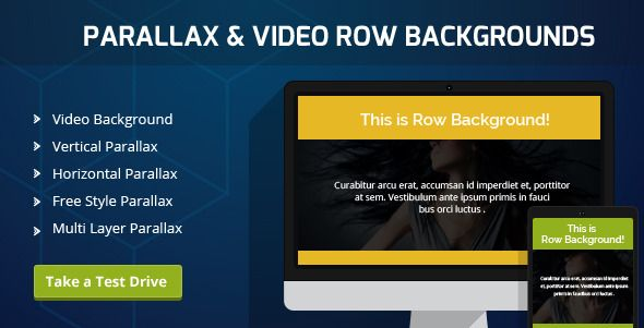 Parallax & Video Backgrounds for Visual Composer from  https://www.brainstormforce.com/