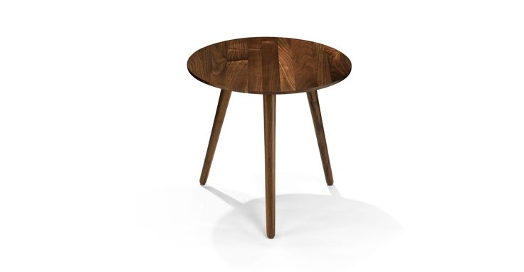 Amoeba Wild Walnut End Table - Coffee Tables - Article | Modern, Mid-Century and Scandinavian Furniture